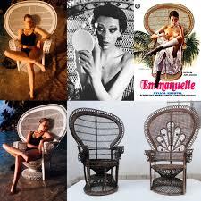 Cane Peacock Chair For Sale Emmanuelle U0027 U0027 Sylvia Kristel Wicker Google Zoeken That