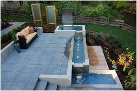 Small Water Features For Patio Backyards Mesmerizing Outdoor Designs Patio With Water Features