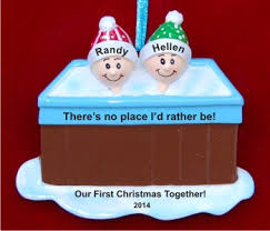 our together tub ornament