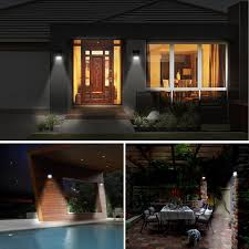 Security Light Solar Powered - solar lights 20 led solar powered wireless waterproof motion