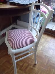 refaire l assise d une chaise relooking dé à coudre