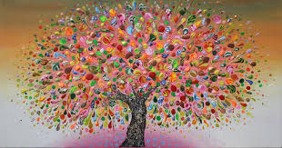 20 beautiful tree paintings free premium templates