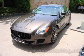 2015 maserati quattroporte price maserati quattroporte front quarter india reveal indian autos blog