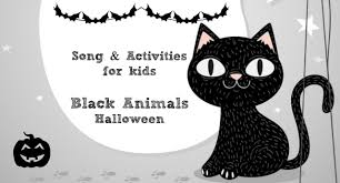 Black Cat Halloween Crafts Halloween Black Animals Story Song Food U0026 Craft For Kids
