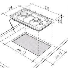dimensioni piano cottura 5 fuochi piano cottura da incasso 30 cm domino marrone 2 fuochi a gas de