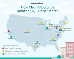 How Much Does An Apartment Cost In La Amazon U0027s Hq2 May Increase Rent In 15 Cities Curbed