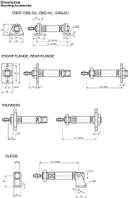 cd85n16 50 b smc double action pneumatic roundline cylinder
