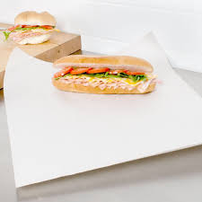 cheeseburger wrapping paper x 24 newsprint sandwich wrap paper 833 bundle