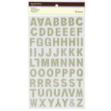find the gold foil embossed alphabet stickers by recollections at find the gold foil embossed alphabet stickers by recollections at michaels