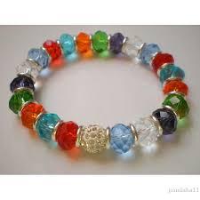 colored bead bracelet images Rhinestone beaded bracelets pandahall beads jewelry blog jpg