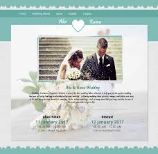 template undangan online akanikah com free wedding invitation website