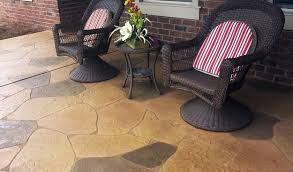Resurface Concrete Patio Concrete Patio Resurfaced Finishes U0026 Design Ideas Concrete Craft