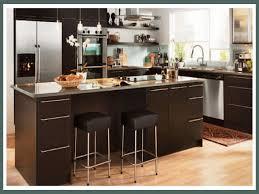 Kitchen Cabinet Design Kitchen Beige Appliances Black Granite Countertops And Ikea Cream Kitchen