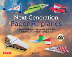 next generation paper airplanes kit book summary u0026 video