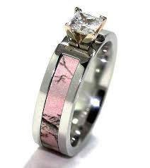 Pink Wedding Rings by Pink Camo Wedding Rings For Her For Exclusiveness Diamond Forever