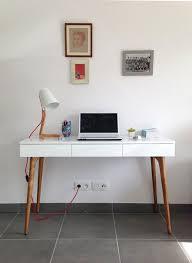 console bureau design retrouvez la console bureau design natura bois blanc sur notre site