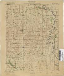 Indiana University Map Indiana Historical Topographic Maps Perry Castañeda Map