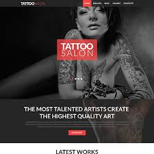 tattoo free website templates for free download about 1 free