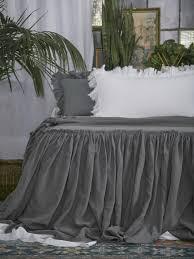 matteo tat linen bed spread