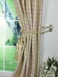 Plaid Blackout Curtains Hudson Yarn Dyed Small Plaid Blackout Pinch Pleat Curtains