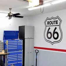 Route 66 Home Decor Rushed Diy Poster Vintage Signs Route 66 Number Stickers Living