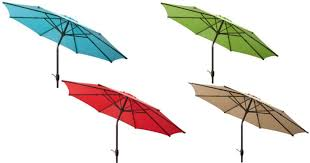 Walmart Patio Umbrella Walmart Mainstays 9 Patio Umbrella Only 21 Hip2save
