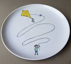 painted platters personalized best 25 painted porcelain ideas on painted