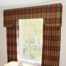 Tartan Drapes Tartan Curtains And Pelmet Just Fabrics