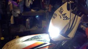 how to fit hid head light kit to ktm exc freeride 350 250 etc