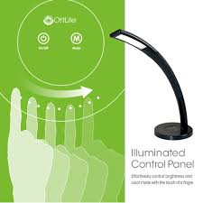 Ottlite Desk Lamp With Colour Base by Maxiaids Ottlite Cobra Led Desk Lamp With Usb Black