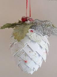 project paper decorations pine cone pine cones and