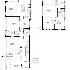 narrow lot house plans craftsman small house plan to narrow lot with two bedrooms open narrow lot