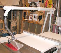 table saw vacuum dust collector scenic shop improvements