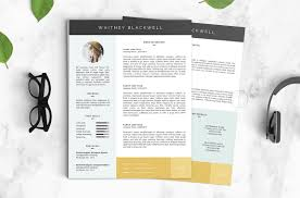 Two Page Resume Template 20 Designer Resume Template Word Indesign Psd Template