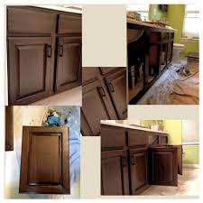 Rustoleum Cabinet Chocolate by Vanity Transformation Rust Oleum Cocoa Color Luxury Bathroom