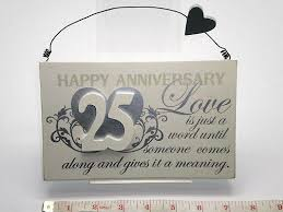 25 wedding anniversary gifts gift suggestions for th wedding make photo gallery 25 wedding