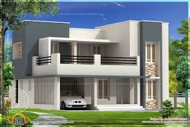 Modern Home Design Exterior 2013 Flat Roof Modern House Designs Narrow Flat Roof Houses Modern