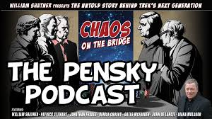 chaos on the bridge the pensky podcast star trek tng youtube