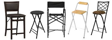 High Top Folding Table Counter Height Folding Chairs And Foldable Bar Stools