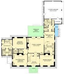 classic georgian home plan 32516wp architectural designs