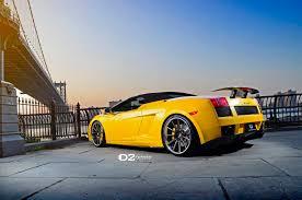 yellow lamborghini gallardo davide458italia lamborghini gallardo spyder on d2 forged wheels