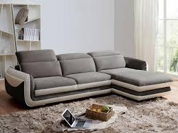 canapé d angle droit pas cher canapé d angle iago pas cher microfibre cuir angle droit gris