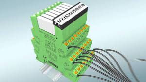 wire terminal block relays without tools phoenix contact youtube