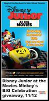 disney junior at the movies mickey u0027s big celebration giveaway 11 12
