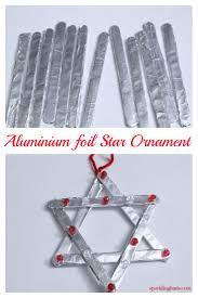 handmade christmas decorations aluminium foil crafts