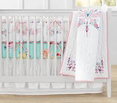 Pink And Gold Baby Bedding Baby Bedding Pottery Barn Kids
