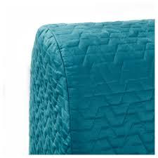 lycksele murbo two seat sofa bed vallarum turquoise ikea