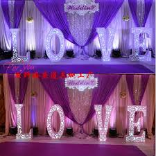 Curtains Wedding Decoration Wedding Stage Decoration With Curtains Express Free Shipping