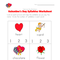 new year u0027s worksheet syllables all kids network