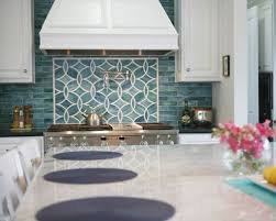 Blue Floor L Blue And White Kitchen Houzz